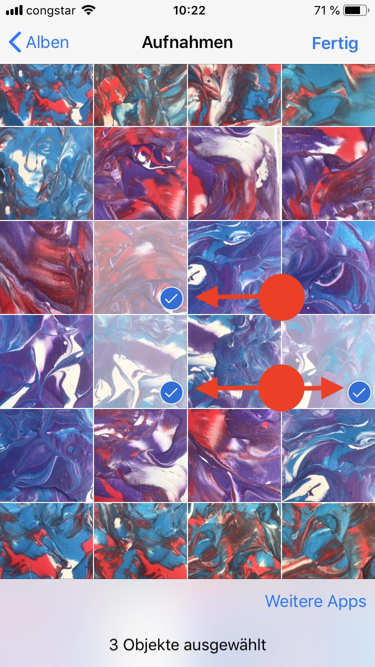 Mehrere Bilder auswählen WhatsApp versenden